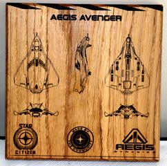Aegis Avenger Etching