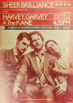 HARVEY GARVEY + THE KANE