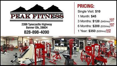 Peak Fitness-Week Pass