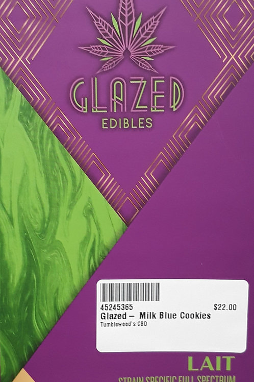 Glazed Edibles Strain Specific Full Spectrum Chocolate Bar