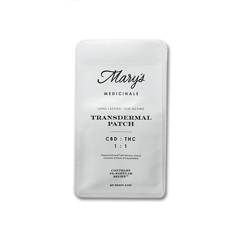 Mary's Medicinals 1:1 Transdermal Patch