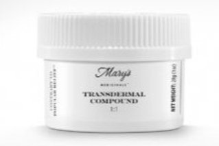 Mary's Medicinals1:1 Body Cream 100mg