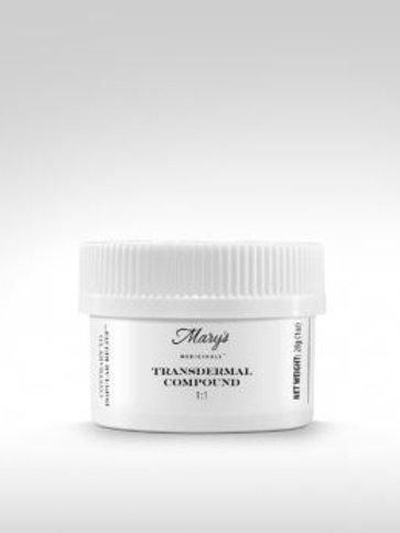 Mary's Medicinals1:1 Body Cream 100mg