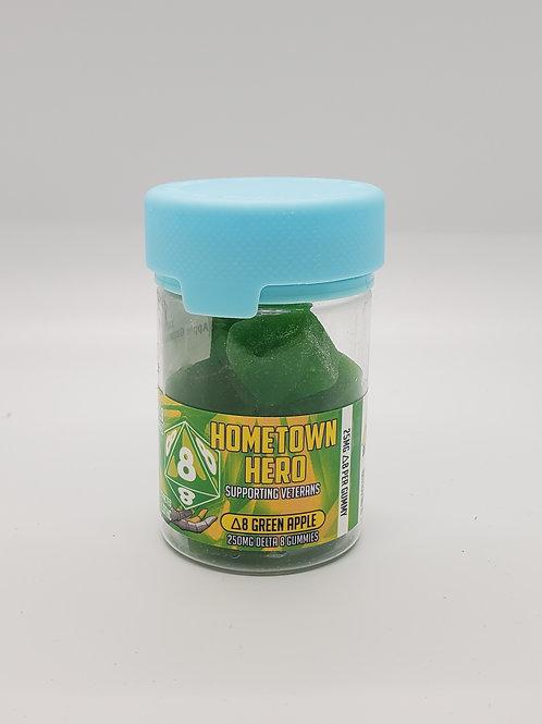 D8 Green Apple gummies