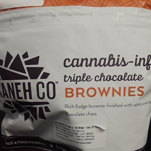 Kaneh Co. 1000mg Triple Chocolate Brownies