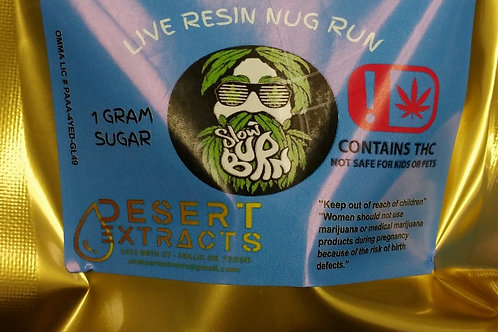 Live resin sugar