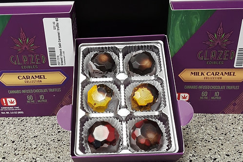 Glazed Edibles Cannabis-infused chocolate truffles