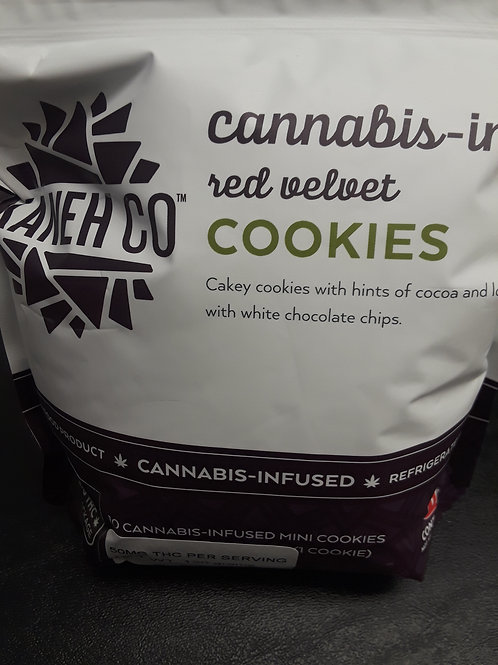 Kaneh Co Red Velvet 500mg Cookies
