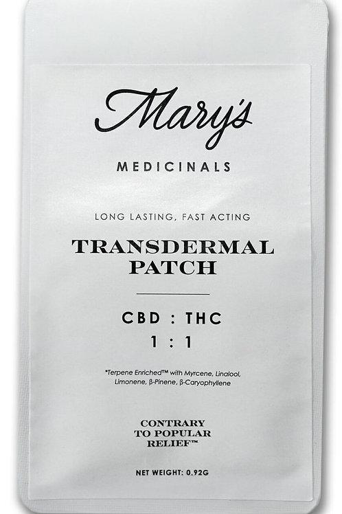Mary's MedicinalsTransdermal 1:1 Patch