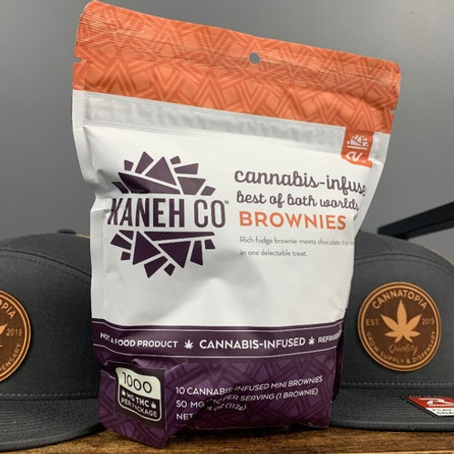 Kaneh Co. Best of Both Worlds 1000mg Brownies
