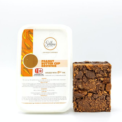 Sublime Peanut Butter Cup Brownie 75mg