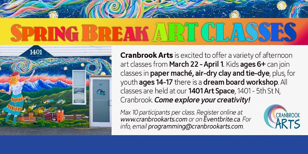 Spring Break Art Classes