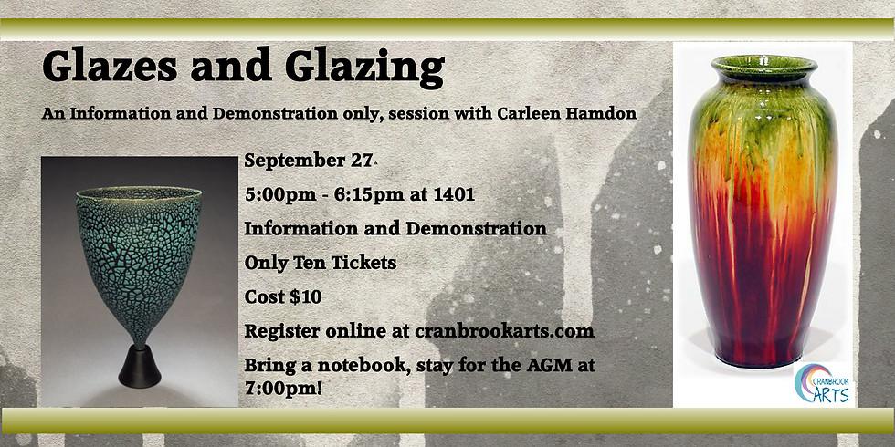 Glazing Information Session
