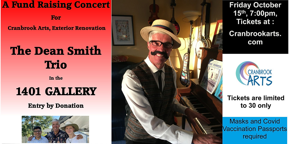Gallery Concert with Dean Smith Jazz Trio