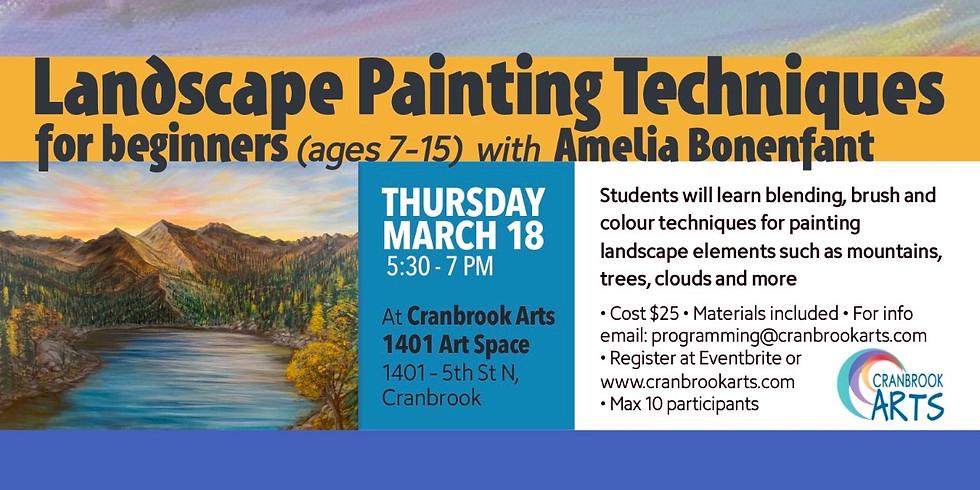 Landscape Painting Techniques - Youth