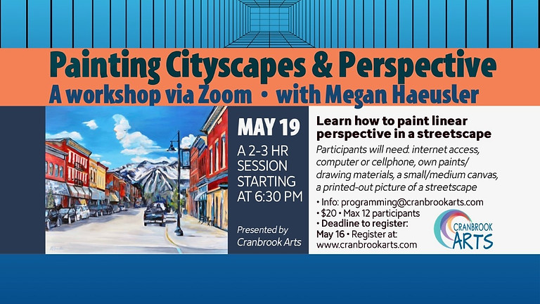 Painting Cityscapes and Perspective