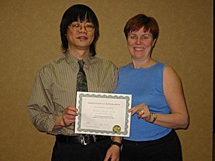 Rochel with Classical Feng Shui Master Ken Lai