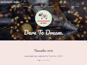 Atoxicdream Website Update