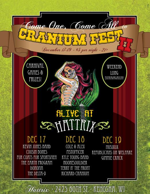 2010 Cranium Fest Flyer