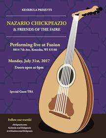 2017 Nazario Chickpeazio Flyer