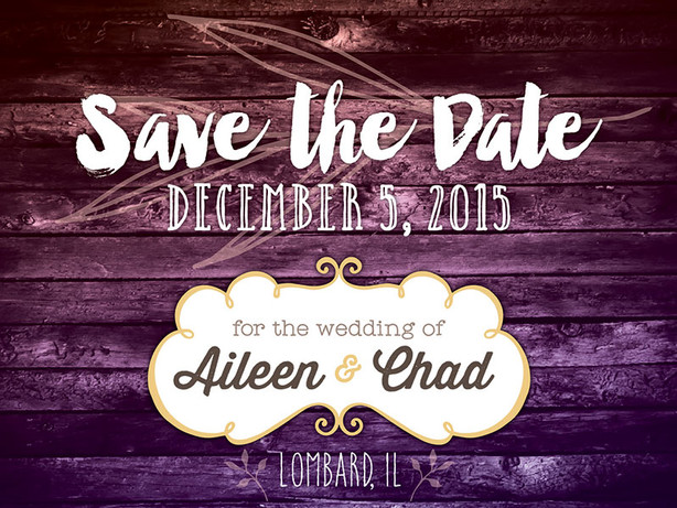 Canfield Save The Date
