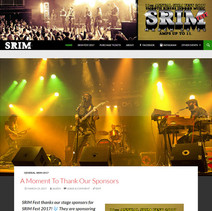 SRIM Fest Website
