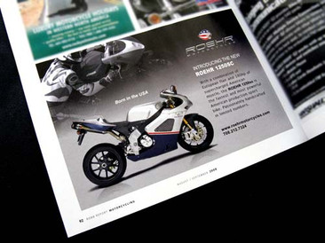 Roehr Motorcycle Ad
