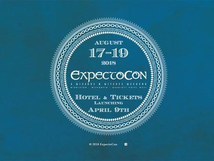 2018 ExpectoCon Splash Page