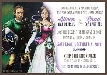 Canfield Wedding Invite 2
