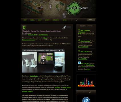 Box O Zombies Website