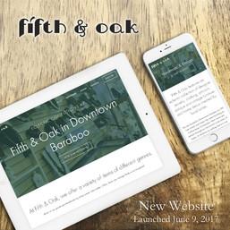 2017 Fifth & Oak Website