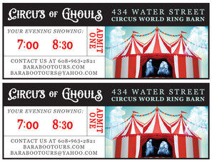 2016 Circus of Ghouls Tickets