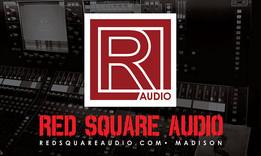 Red Square Audio Logo