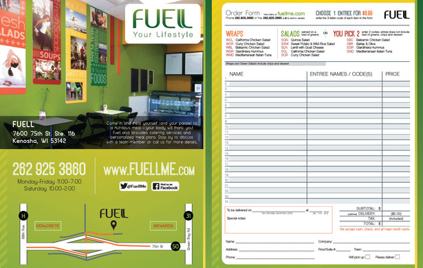 Fuell Catering Brochure