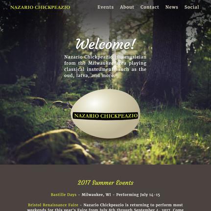 2017 Nazario Chickpeazio Website