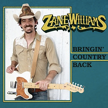 Zane Williams Bringin' Country Back