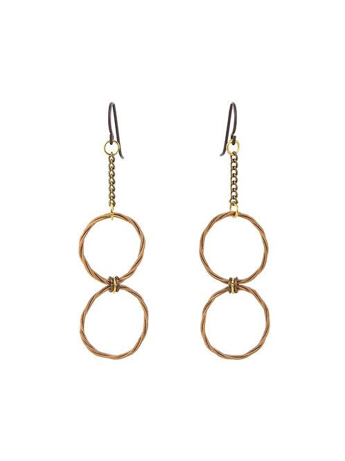 Love Knot Earrings - Linked