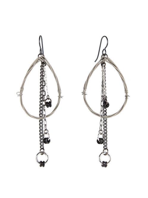 Earrings that Rock -Teardrop