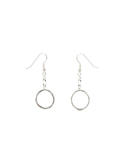 Circle Knot Earrings