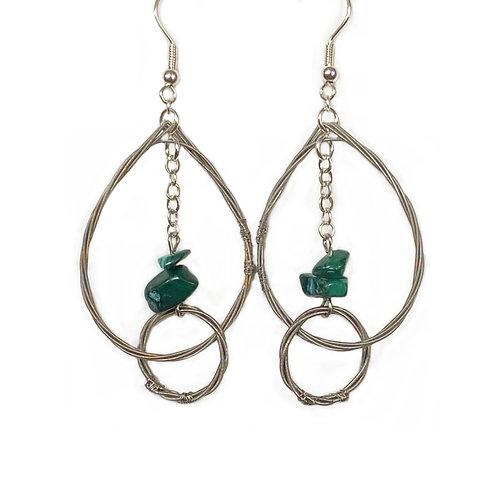 Teardrop loop with Turquoise