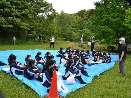 2021年5月8日 麗澤中学校2年生が田植え体験!