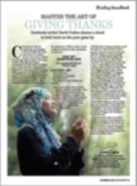 Soul and Spirit Sarit Gratitude Article