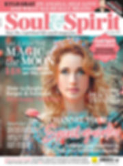 Soul and Spirit mag cover december 2019.