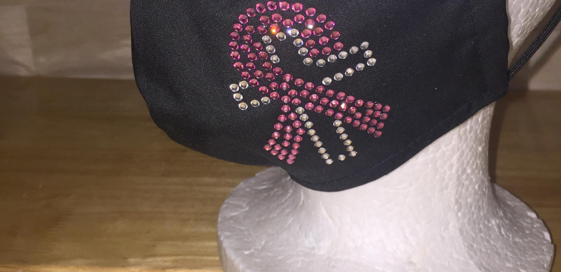 Breast Cancer Ribbon Cross