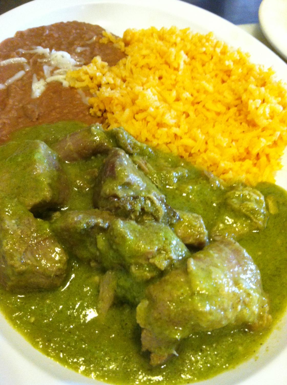 chile verde carnitas