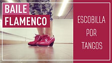 baile flamenco, flamenco dance, escobilla por tangos