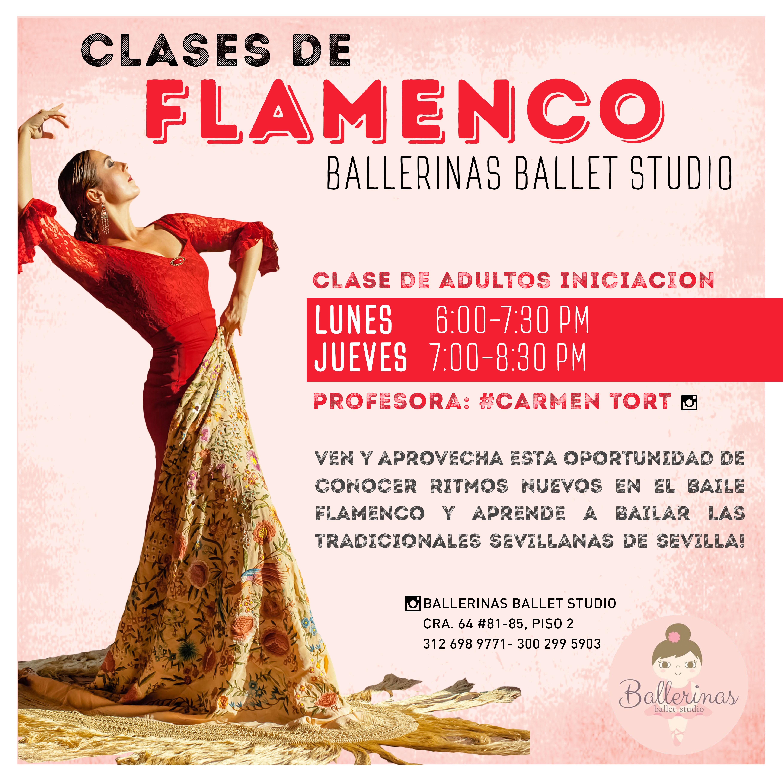 Clases de Flamenco Ballerinas