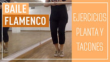 baile flamenco, flamenco dance, ejercicios zapateado flamenco