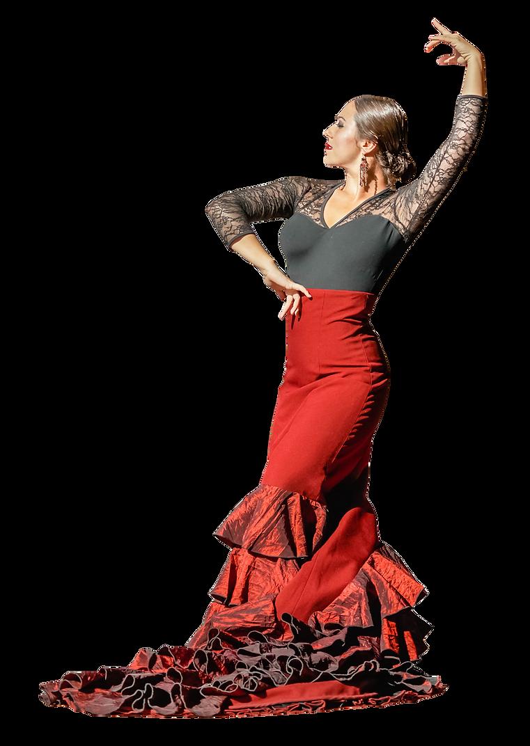 Bata de Cola, Spanish Dancer