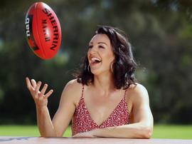 Bianca Chatfield new host of Womens Footy